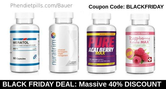 Black Friday 40% Discount on most popular diet pills in the world #blackfriday