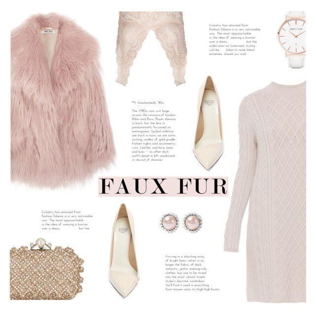 """Wow Factor: Faux Fur"" by sandralalala ❤ liked on Polyvore featuring Miu Miu, 'S MaxMara, Francesco Russo, Topshop, Jimmy Choo and Abbott Lyon"