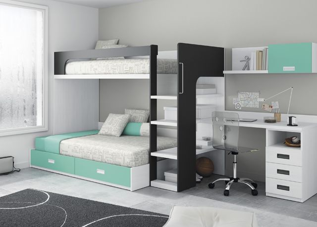 17 mejores ideas sobre litera en pinterest camas literas