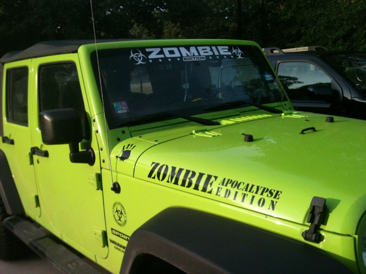 Zombie Edition Jeep For My Pinterest Jeeps