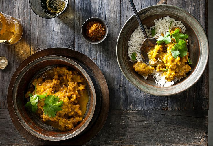 Tasty and filing, this traditional Indian dish is made in the slow-cooker.