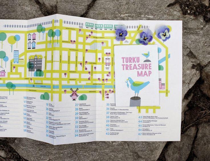 Turku Treasure Map 2014 is out now! Turku Treasure Map is produced by Polkka Jam. Design and illustrations by Kristiina Haapalainen and Sami Vähä-Aho 2014.