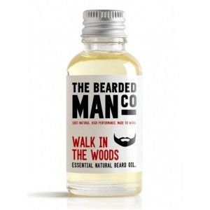 The Bearded Man Co. 30ml Walk In The Woods Essential Natural Beard Oil