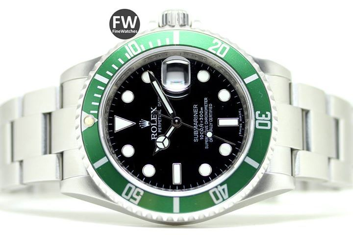 Rolex Submariner 50th Anniversary. Ref 16610LV. Como Nuevo (1) Estuche, Documentación, año 2010. Caja acero, diámetro 40 mm. Brazalete Oyster acero. Cristal zafiro, esfera negra. Hermetismo 300 M.  Nuestro Precio. 8.450 €  Rolex Submariner 50th Anniversary. Ref 16610LV. Like New (1) Box, Papers, year 2010. Steel case, diameter 40 mm. Oyster steel bracelet. Sapphire crystal, black dial. Hermetism 300 M.  Our Price. 8.450 € #watch  #watches  #watchoftheday  #luxury #rolex  #timepiece…