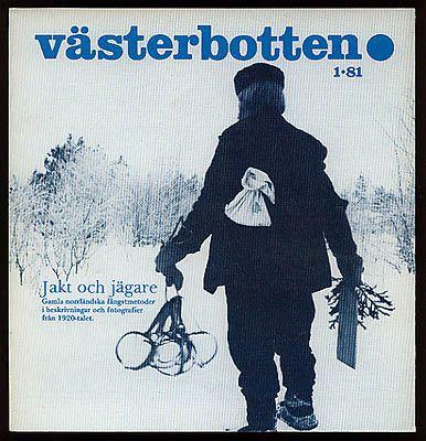 Gamla norrländska fångstmetoder i beskrivningar och fotografier från 1920-talet. Umeå 1981. Illustrerad med äldre s/v fotografier, faksimil, kartor och illustrativa teckningar.