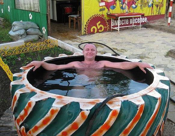 99 best ideas para recliclar images on pinterest cool for Repurpose inground swimming pool