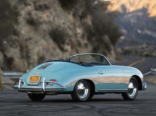 Klassische Single, Porsche 356 Speedster 1958