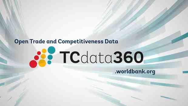 WORLD BANK TCDATA360 TO HELP SPUR ECONOMIC GROWTH