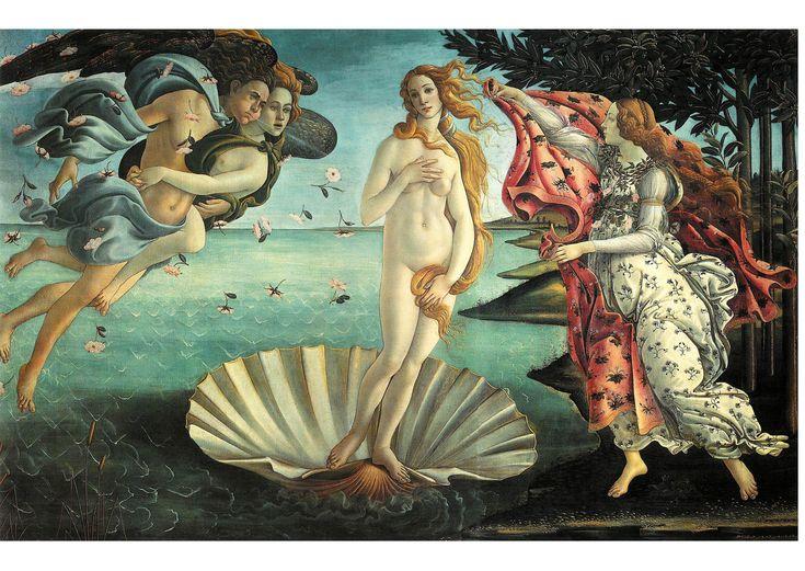 Sandro Botticelli - La nascita di Venere (1484)