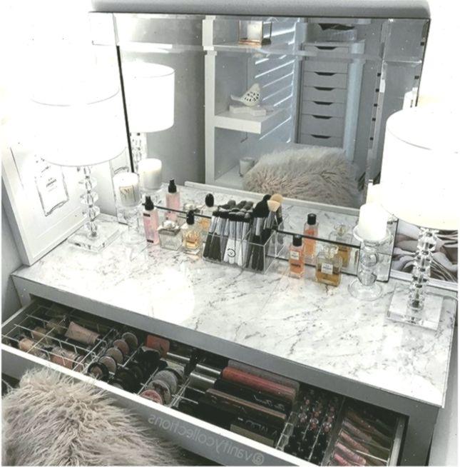 Vanity Makeup Table Von Target Makeup Vanity Table Ikea Makeup Vanities Mit Dreamhousebath In 2020 Ikea Vanity Table Diy Vanity Mirror Diy Vanity Mirror With Lights