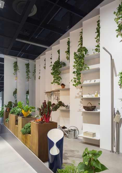 Das Haus by Luca Nichetto  I love the idea of living plant life inside my home.