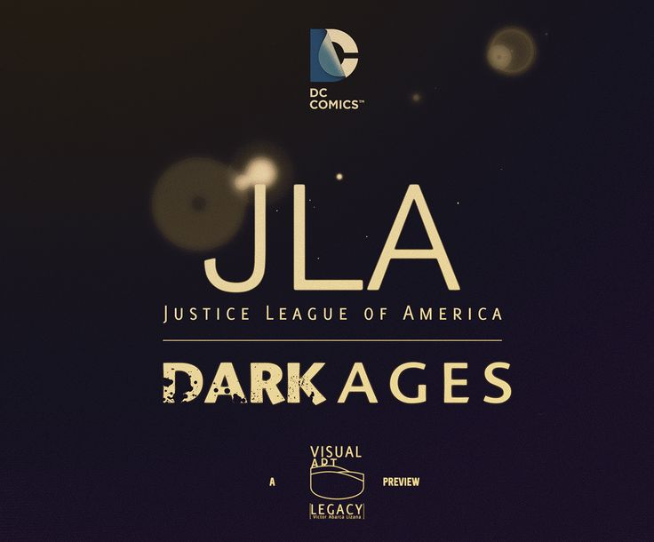 JLA ★DARK AGES ★ on Behance