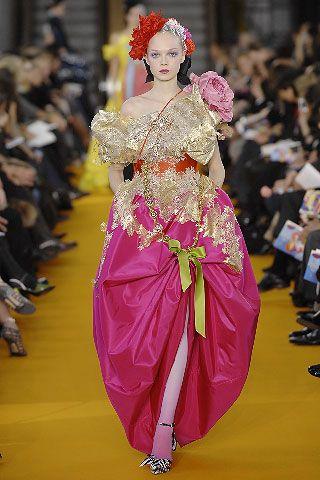 Christian Lacroix haute couture, 2007.Design Gowns, Catwalks, Spring Summer, Christian Lacroix, Christianlacroix, Fashion Spring, Spring Summe 2008, 2008 Couture, Haute Couture