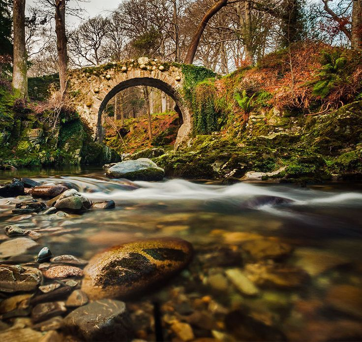 Foley bridge, Tollymore Forest, Bryansford, Co. Down
