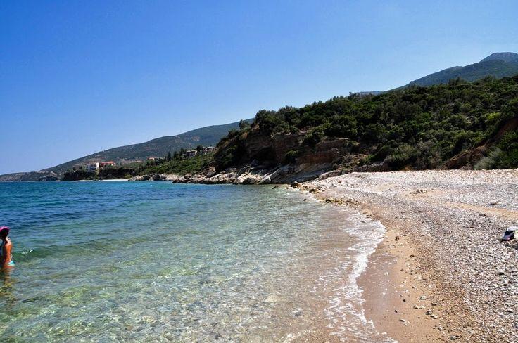 Plaża niedaleko Kiveri