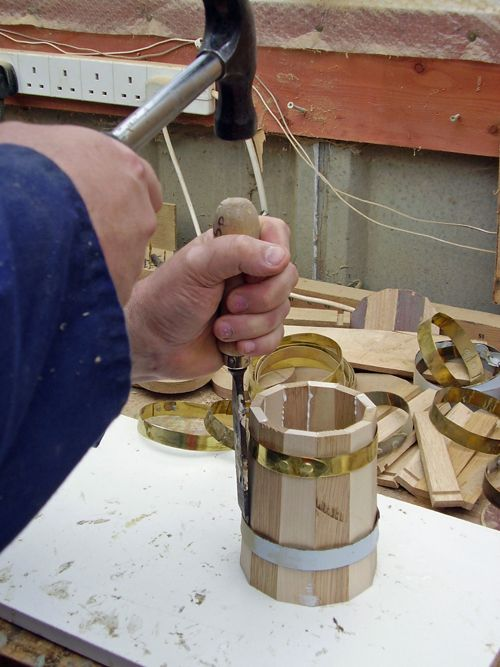 Provenance Coopering How to make a tankard: Traditional Handmade Coopered Wooden Tankards
