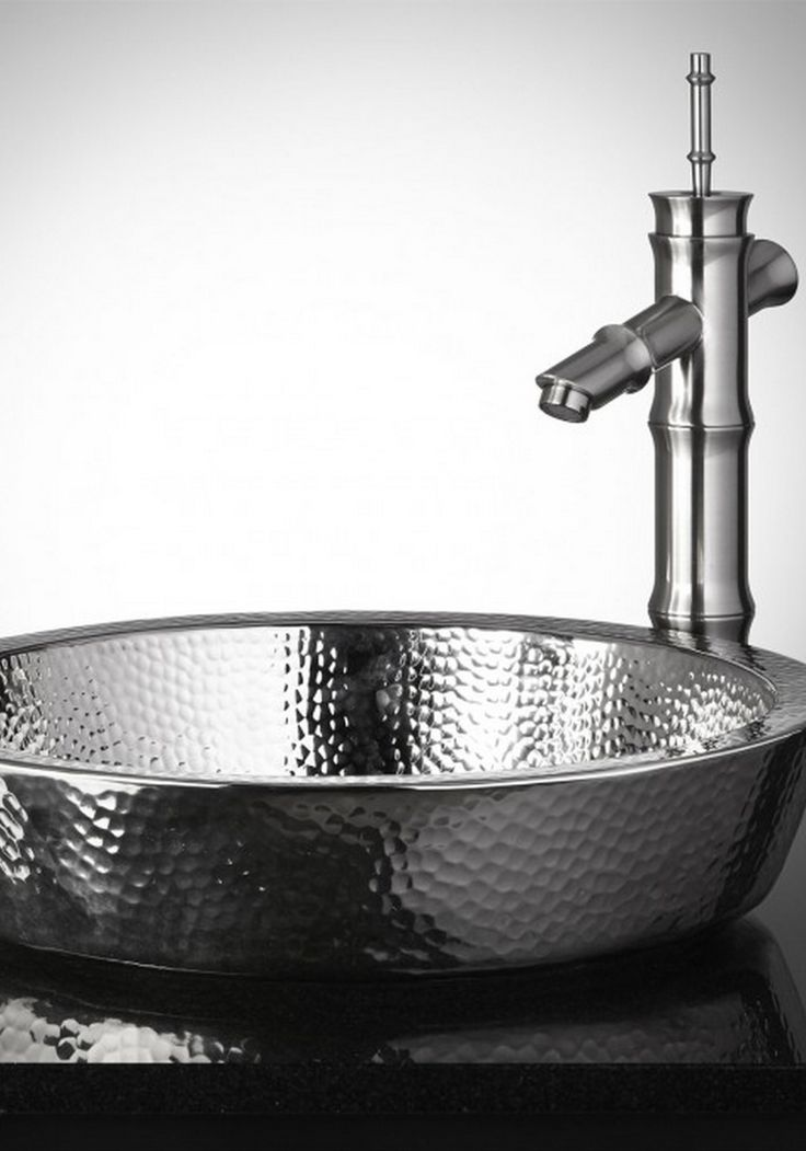 Transform Your Bathroom With This Semi Recessed Copper Sink. Featuring A  Hammered Finish, This