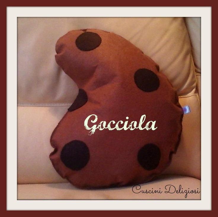 cuscino #gocciola