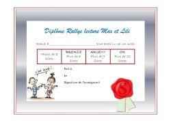 Max et Lili : Rallye lecture