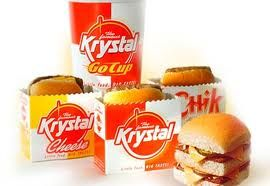4 Burgers for $2.84 at Krystal Burgers!