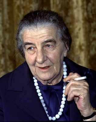 Golda Meir from Milwaukee, Wi  becomes Prime Minister of Israel in 1969