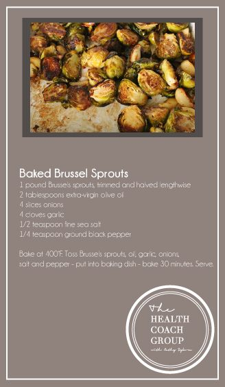 Brussel Sprouts #baked