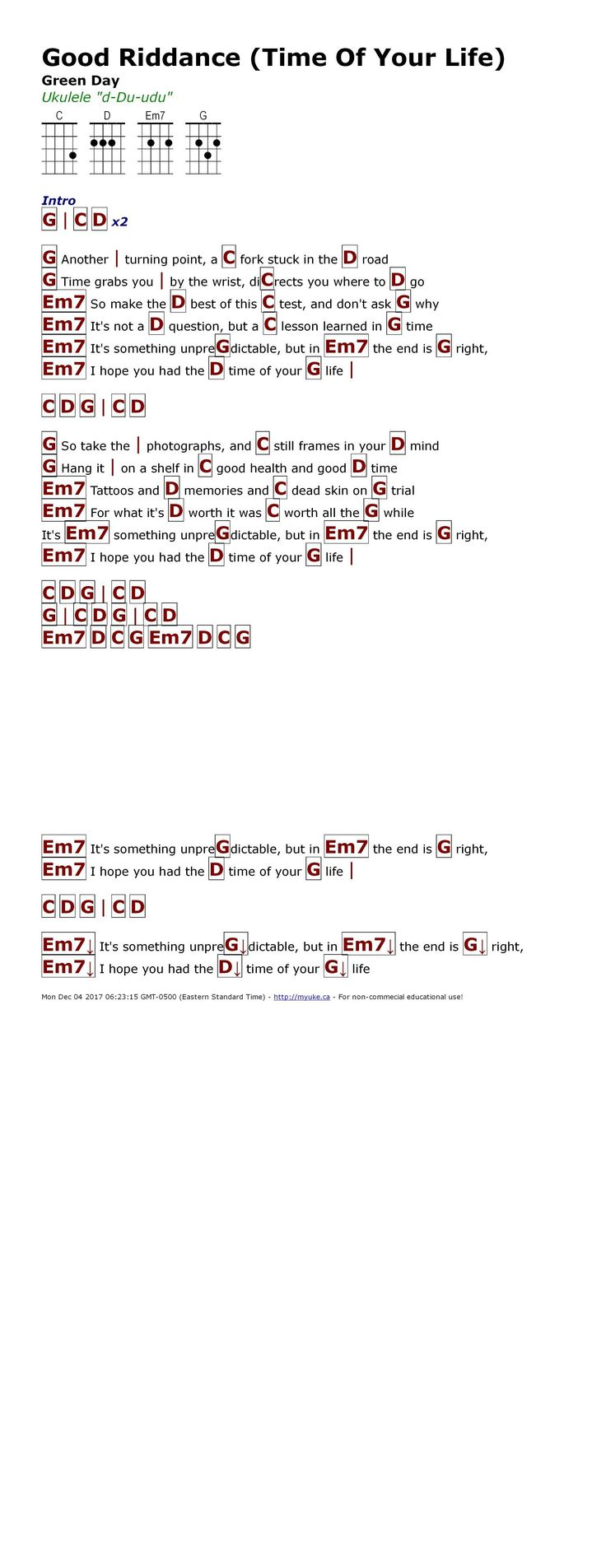 Green day time of your life guitar chords gallery guitar chords die besten 25 green day good riddance ideen auf pinterest green good riddance green day httpmyuke hexwebz Image collections