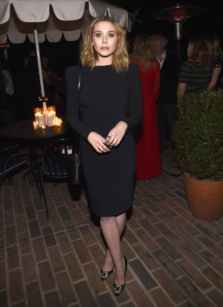 Elizabeth Olsen Photos - Actress Elizabeth Olsen attends VANITY FAIR and Barneys New York Dinner benefiting OXFAM, hosted by Rooney Mara at Chateau Marmont on February 18, 2015 in Los Angeles, California. - Vanity Fair Campaign Hollywood - Barneys New York & OXFAM Benefit Dinner