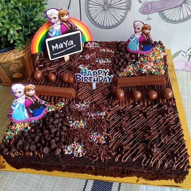 New The 10 Best Food Ideas Today With Pictures Brownies Full Topping Coklat Only Theme Frozen Foodlover Foodlover Baking Classes Cake Food