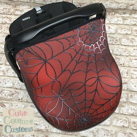 Hey, I found this really awesome Etsy listing at https://www.etsy.com/listing/548727316/spider-car-seat-hood-maxi-cosi-car-seat