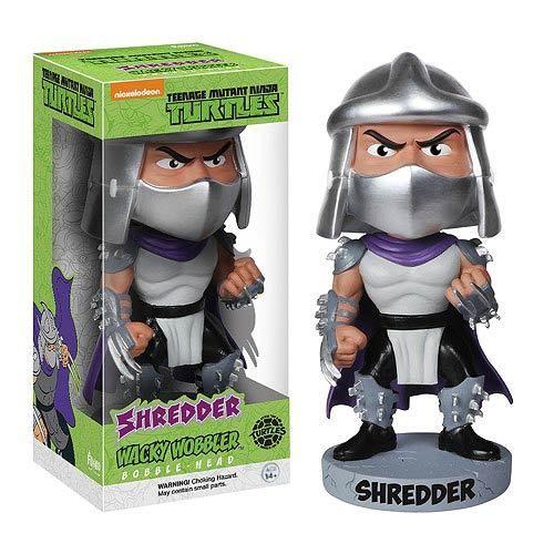 Not Just Toyz - Teenage Mutant Ninja Turtles Shredder Bobble Head, $12.99 (http://www.notjusttoyz.com/teenage-mutant-ninja-turtles-shredder-bobble-head/)