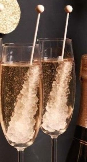 New Years Champagne Cocktail Recipes - Rock Candy Champagne