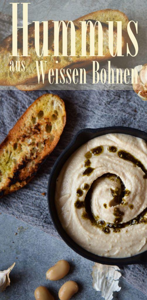 Rezept für Weisse-Bohnen-Hummus. So wird es perfekt...