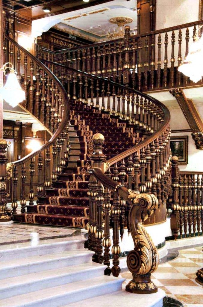 25 best ideas about newel posts on pinterest staircase spindles time change date and stair - Modelos de escaleras interiores ...