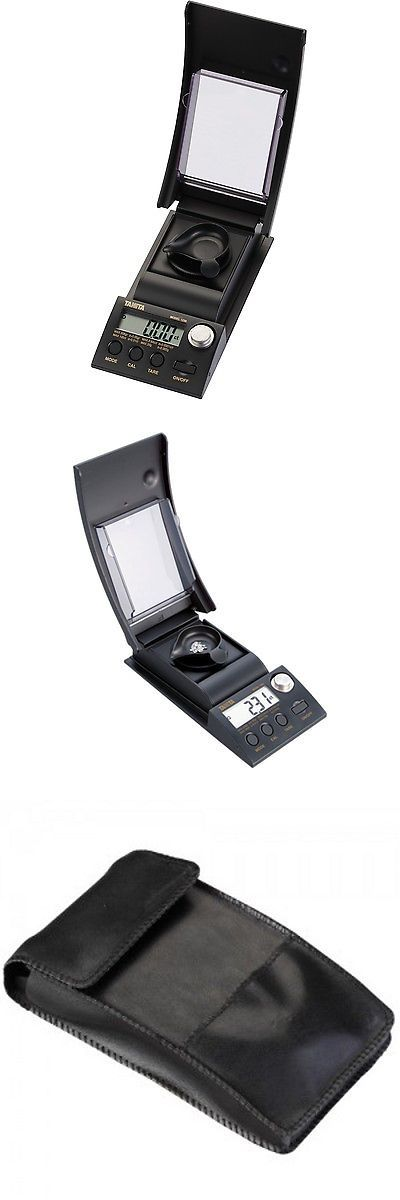 Scales 34088: Tanita 1230 Diamond 100 Carat Or 20 Gram Scale With Calibration -> BUY IT NOW ONLY: $199.99 on eBay!