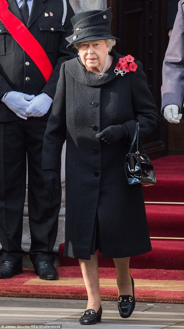 The Queen, senior politicians, including the British Prime Minister and representatives from the armed forces, joined to pay tribute to those who have suffered or died at war