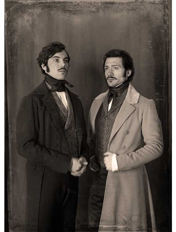 Ernest and Albert. Photo by Flo Tasker, from David Oakes' Instagram.