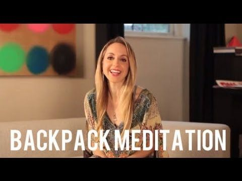 Backpack Meditation to Alleviate Your Stress Anywhere