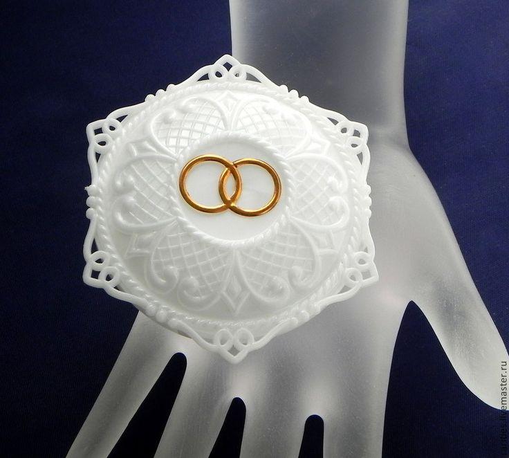 Купить Свадебная коробочка для колец,Италия,50ые годы,шкатулочка,свадьба - белый, коробочка на свадьбу