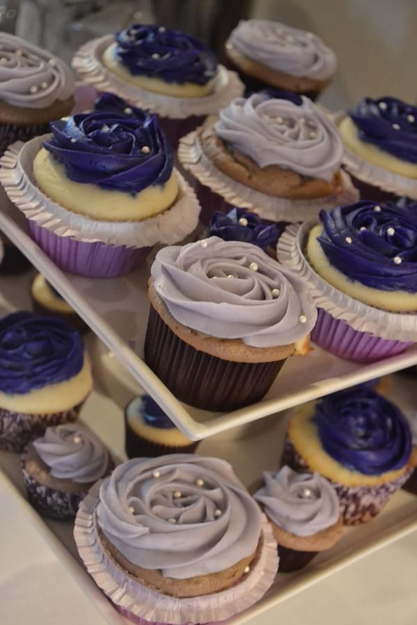 cupcake recipes for bridal shower%0A Hostess with the Mostess  Purple Bridal shower