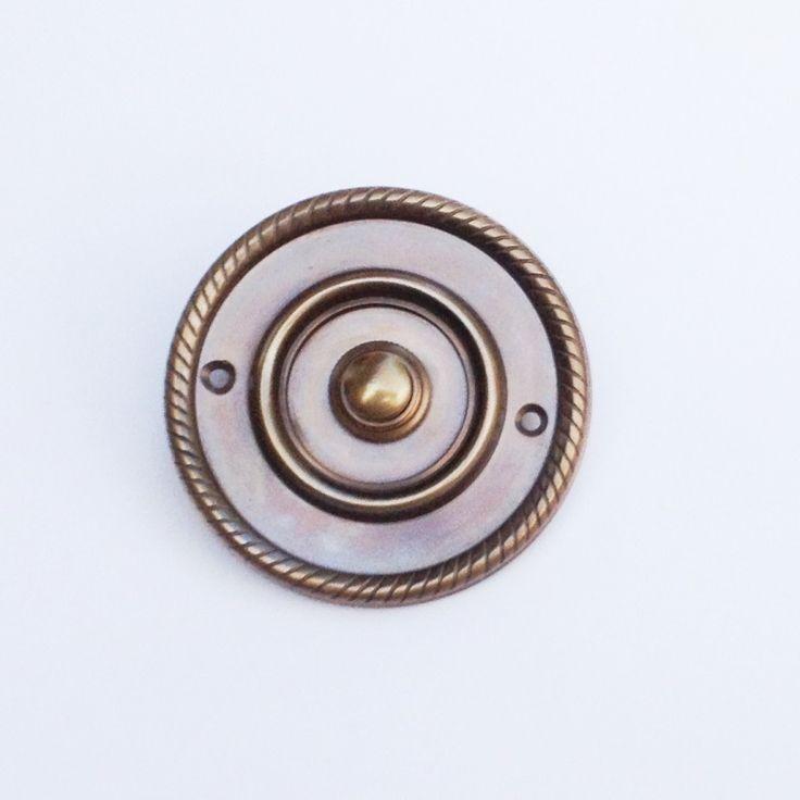 Klingel Klingeltaster Klingelknopf Historisch antik #K22-A