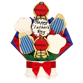 Father's Day Grill Master Cookie Bouquet