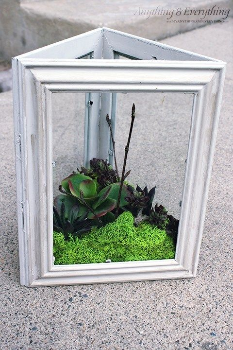 Dollar Store Artigianato fai-da-te con piante finte – Succulent Garden