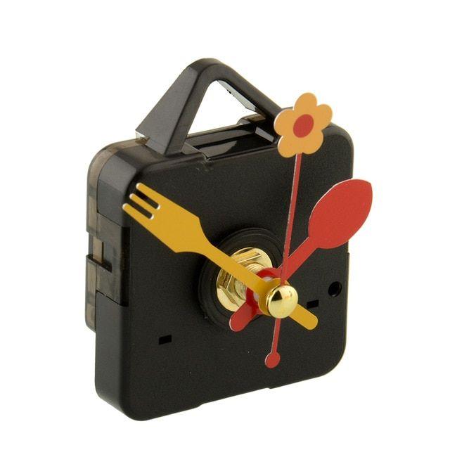 Amazon Com 12888sh 24 Hour Movement Screw In Type Clock Accessory Quartz Plastic Leap Movement With 1 Black Clock Hand Clock Kits Home Kitchen