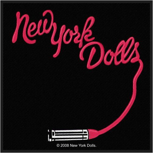New_York_Dolls_Logo_Woven_Patch