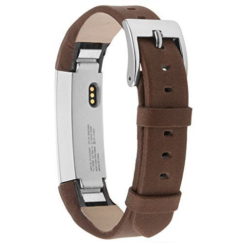 Henoda Leather Bands for Fitbit Alta,Alta Strap Style (Tan) - http://www.exercisejoy.com/henoda-leather-bands-for-fitbit-altaalta-strap-style-tan/fitness/