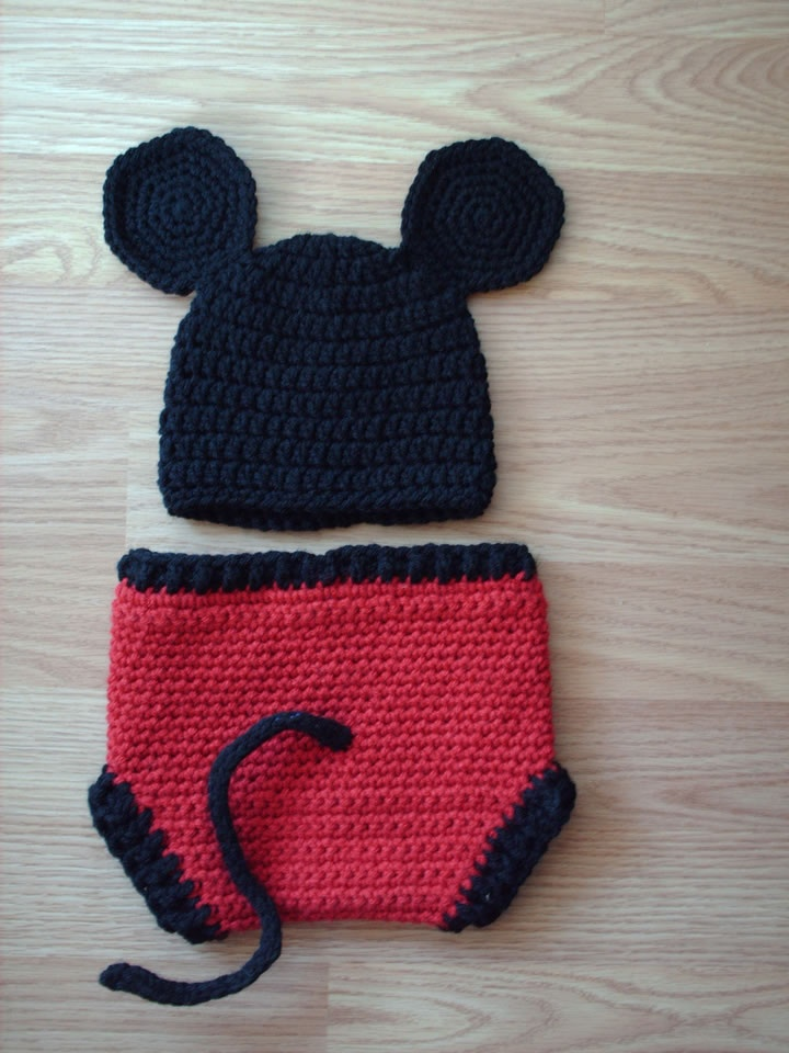Fancy Mickey Mouse Crochet Outfit Pattern Inspiration Blanket