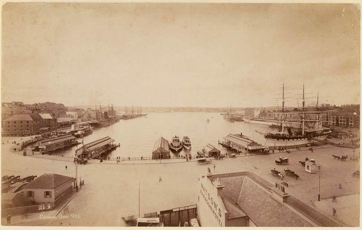 Circular Quay ... ca. 1880s ... sl.nsw
