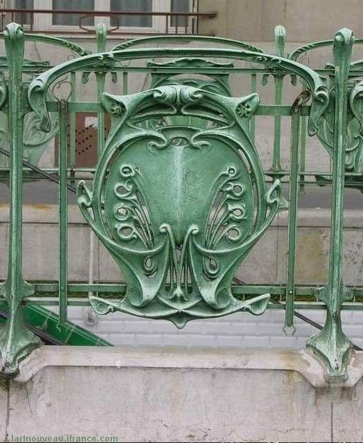 Art Nouveau Architecture | ... Art Nouveau & l'Architecture - de Hector Guimard - Au Bistrot du Coin