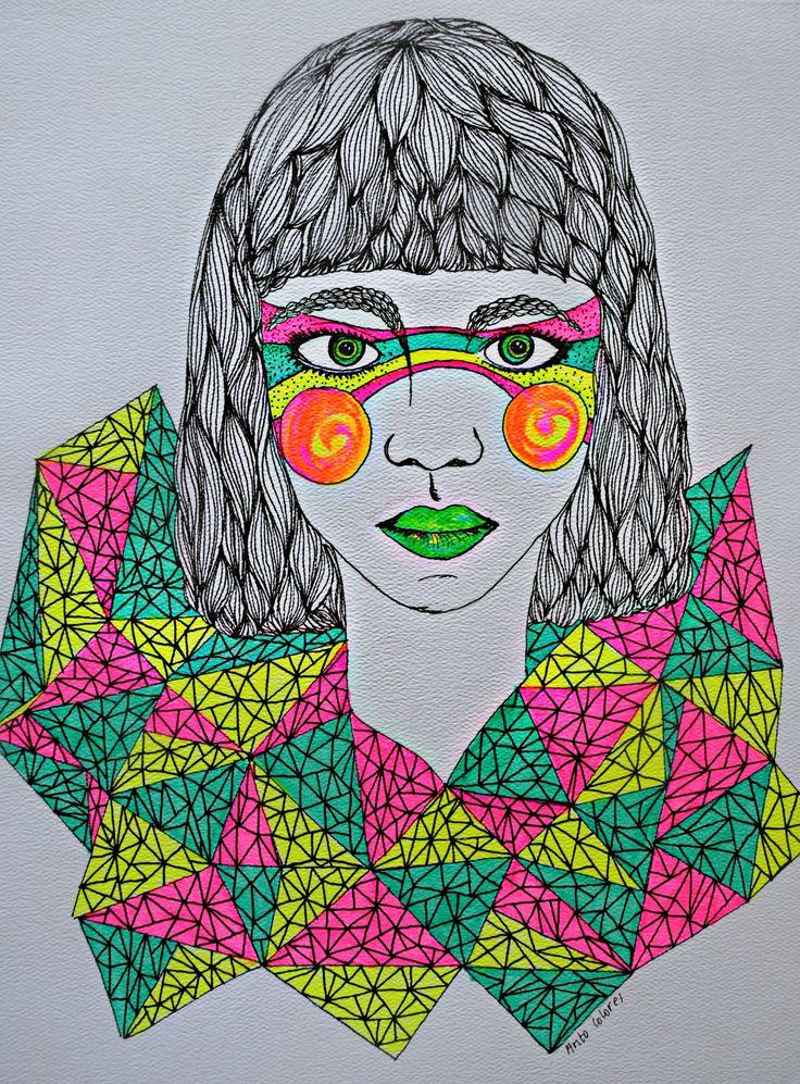 Inyección de color #ilustracion #ilustration #color #art